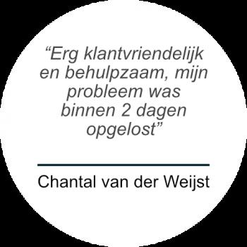 Chantal van der Weijst over Prospekt